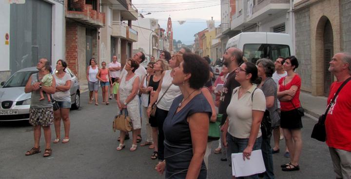 La vall de Vernissa tanca l'homenatge a Estellés amb una gran acollida per part del veïnat