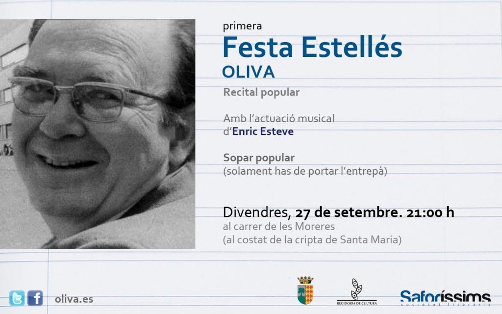 I Festa Estellés d'Oliva