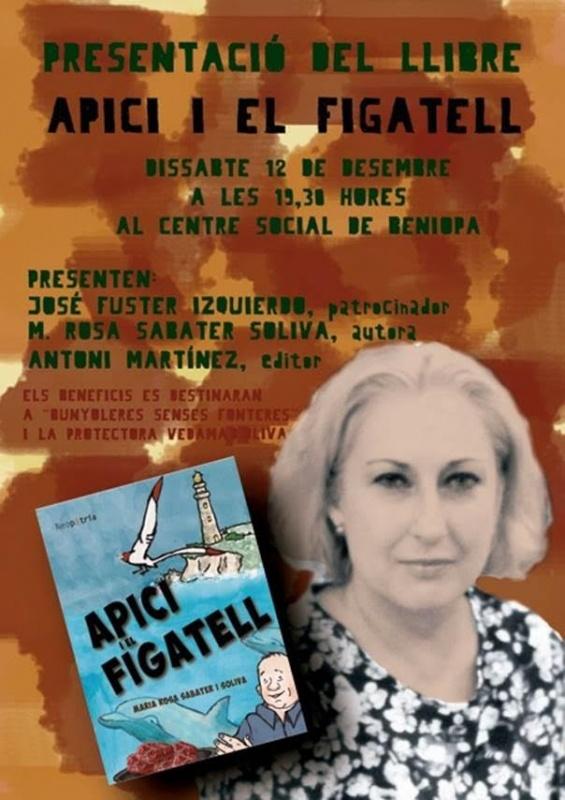 Presentació del llibre infantil Apici i el figatell, de Maria Rosa Sabater Soliva
