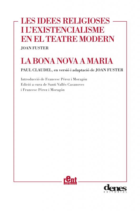 """Presentació a Gandia de dos treballs inèdits de Joan Fuster (dijous, 26 de maig, 20.00h, a la """"Casa de la Marquesa"""")"""