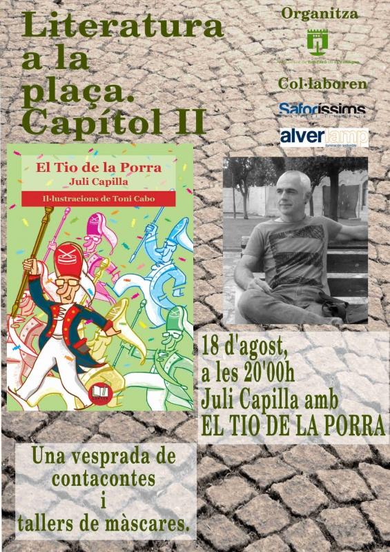 Contacontes i taller de màscares i titelles d'El Tio de la Porra a Benifairó de la Valldigna (dijous, 18 d'agost, a les 20.00h)