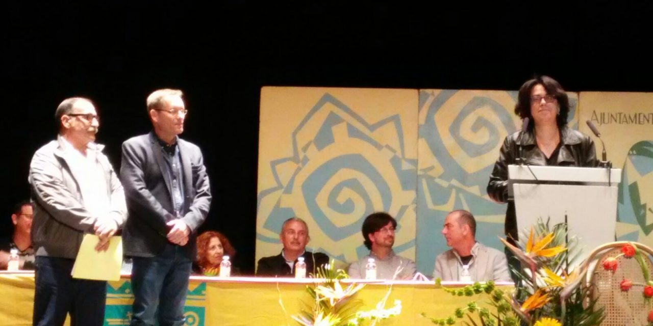 Yolanda Esteve Giner guanya el 37é Premi de Poesia Senyoriu d'Ausiàs March de Beniarjó, amb 'Intercity'