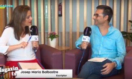 Entrevista a Josep Maria Balbastre, al voltant de la presentació d''Iconòstasi'