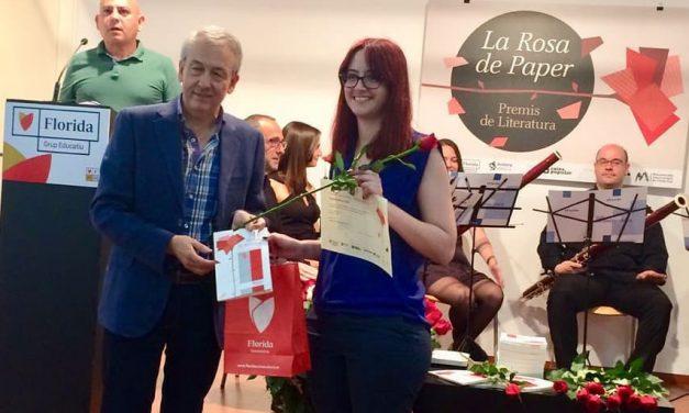 Florida Grup Educatiu lliura els premis de la XXIII edició de la Rosa de Paper
