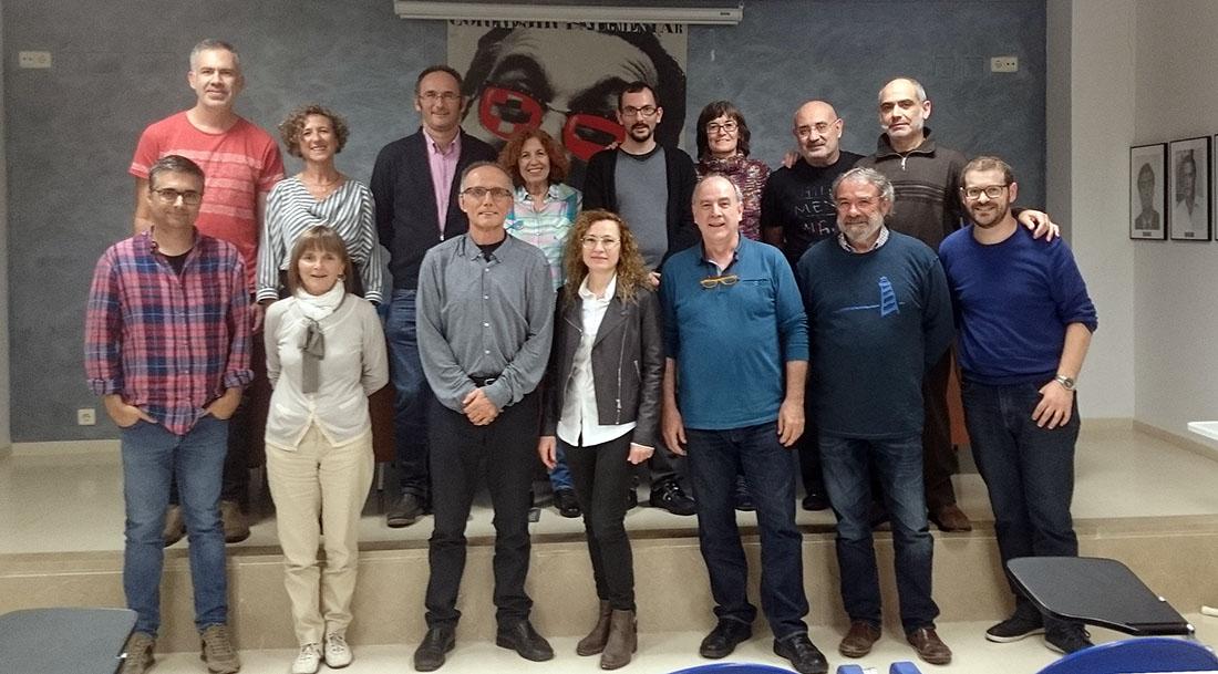 Rafa Gomar, nou president de Saforíssim, pren el relleu de la poeta Maria Josep Escrivà