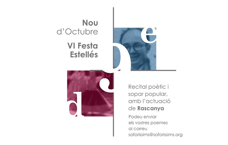 Arriba la 6a Festa Estellés d'Oliva, el 8 d'octubre