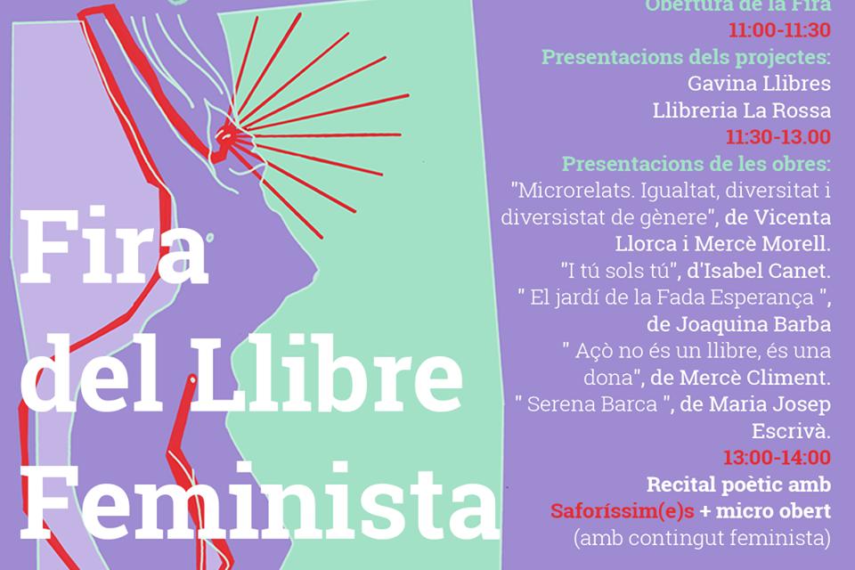 ACTIVITATS CULTURALS DE LA FIRA DEL LLIBRE FEMINISTA A GANDIA