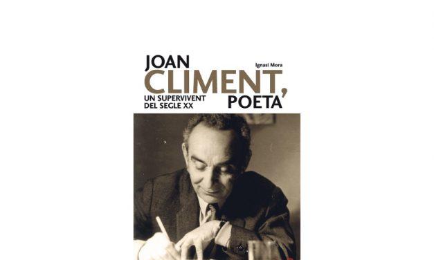 Joan Climent vist per l'escriptor Ignasi Mora