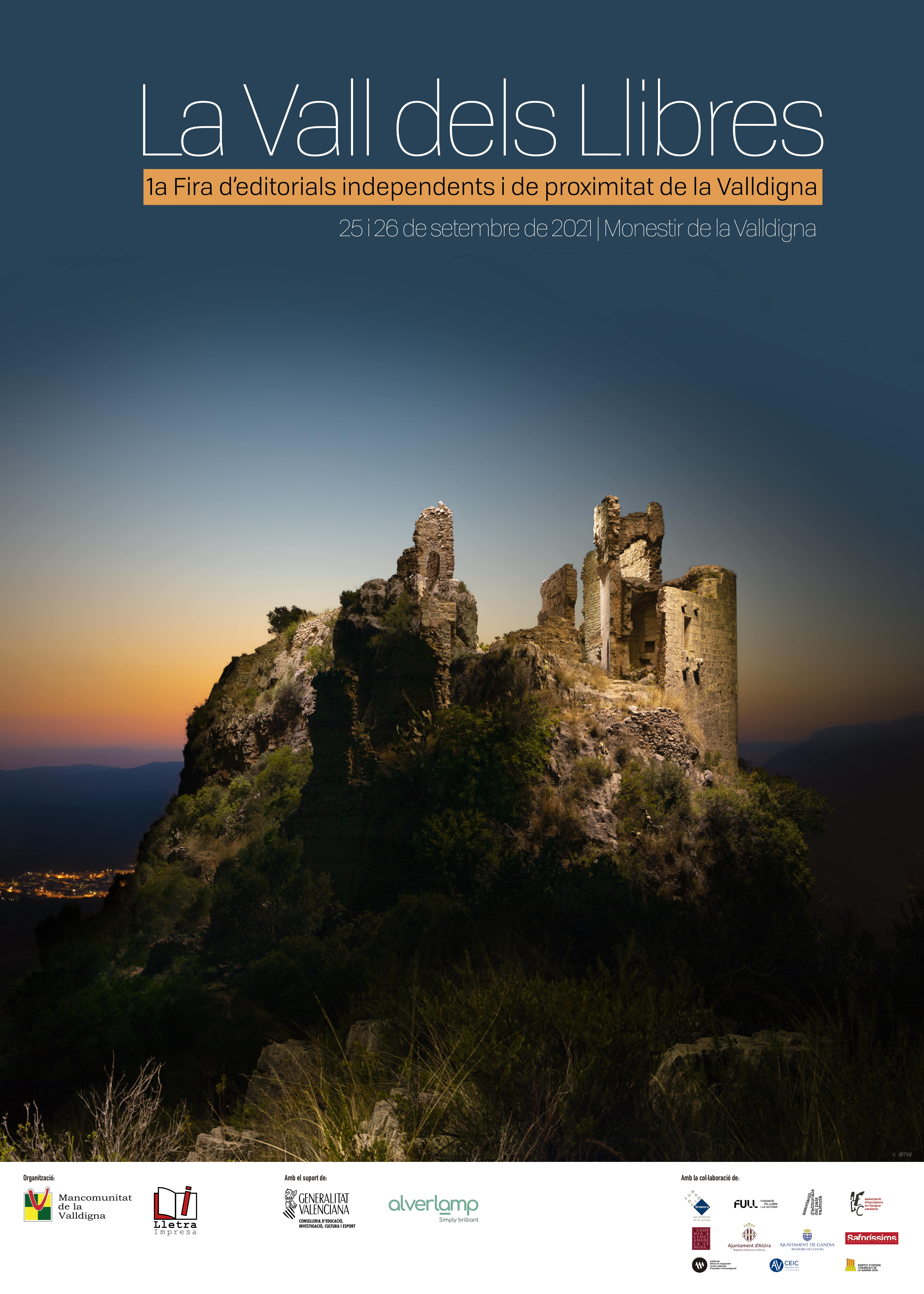 La Vall dels Llibres. 1a Fira d'editorials independents i de proximitat de la Valldigna